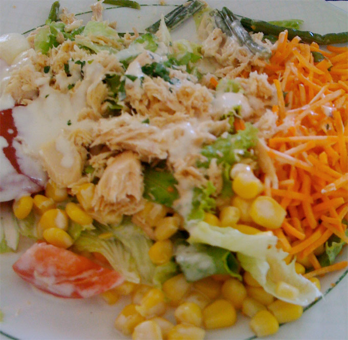 Café Léo - salad
