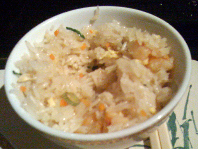 China Garden - fried rice