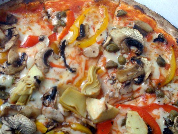 Forno a Legna - vegetarian pizza