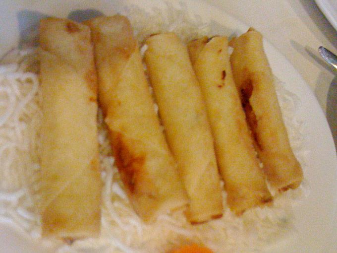 Baguette d'Or - mini spring rolls