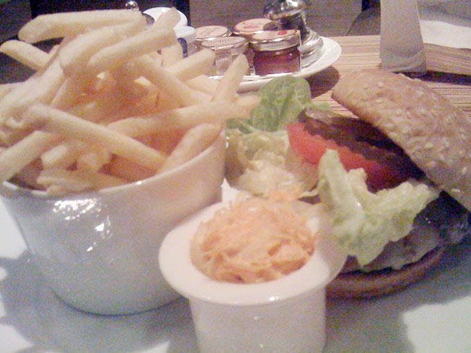 Intercon - burger and fries