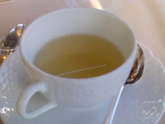 Hôtel d'Angleterre - tea
