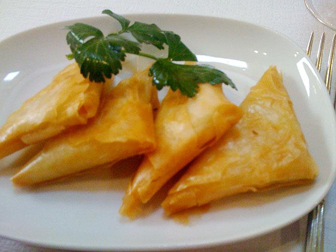 Emilios - cheese pastries