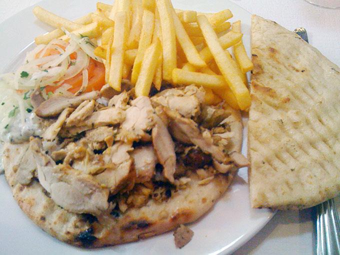 Emilios - chicken gyro