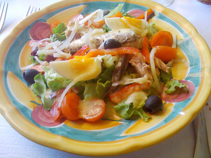 Pompei - salad