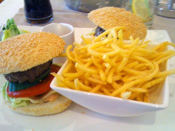 Bon Génie - mini burgers
