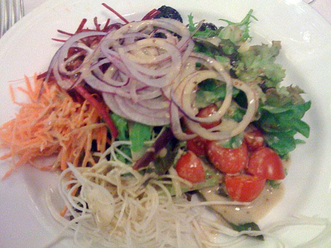Il Forno a Legna - salad