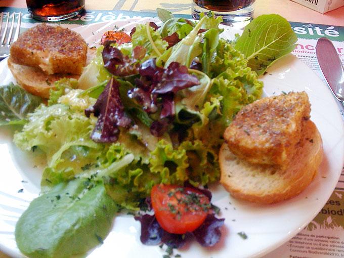 Point du Jour - salad
