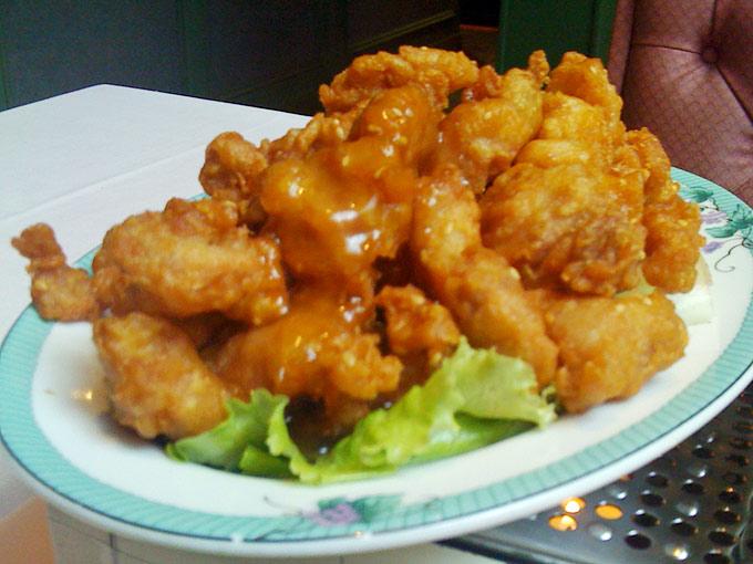 Jardin d'Asie - honey chicken