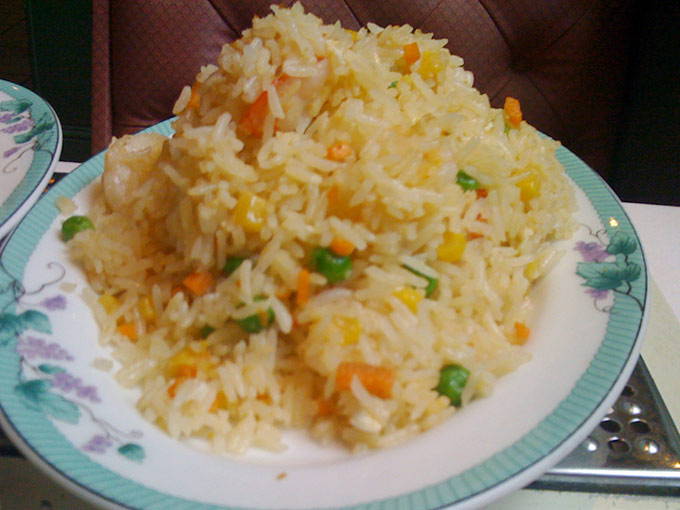 Jardin d'Asie - fried rice