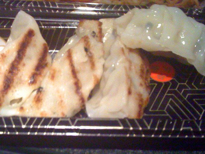 Wasabi - dumplings