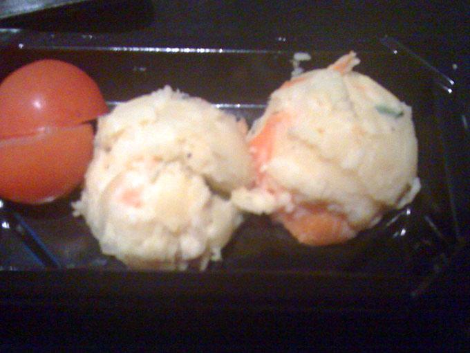 Wasabi - potato salad
