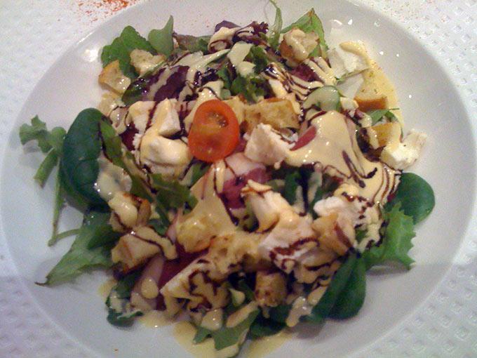 Le 3 Rive Gauche - salad