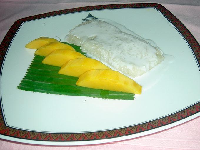 Phuket - mango and sticky rice