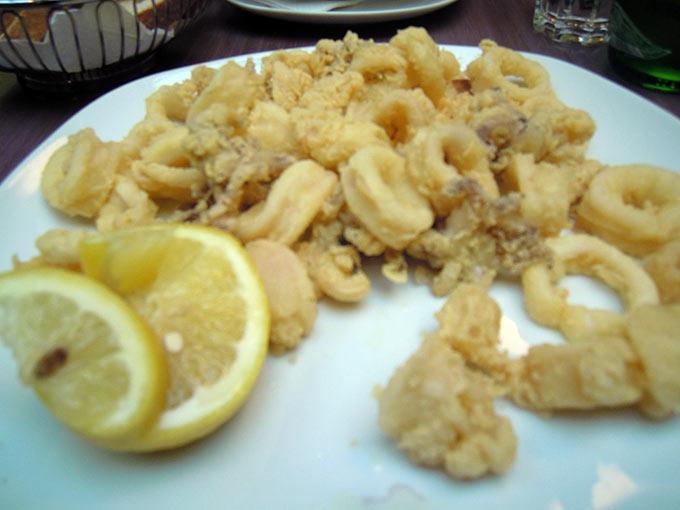 Luigia - calamari