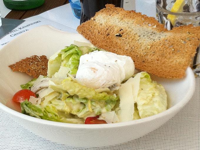Kempinski - Cesar salad