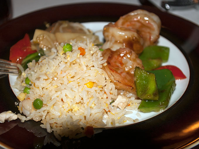 Tse Fung - rice and shrimp