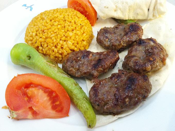 Mediterranean Grill - köfte