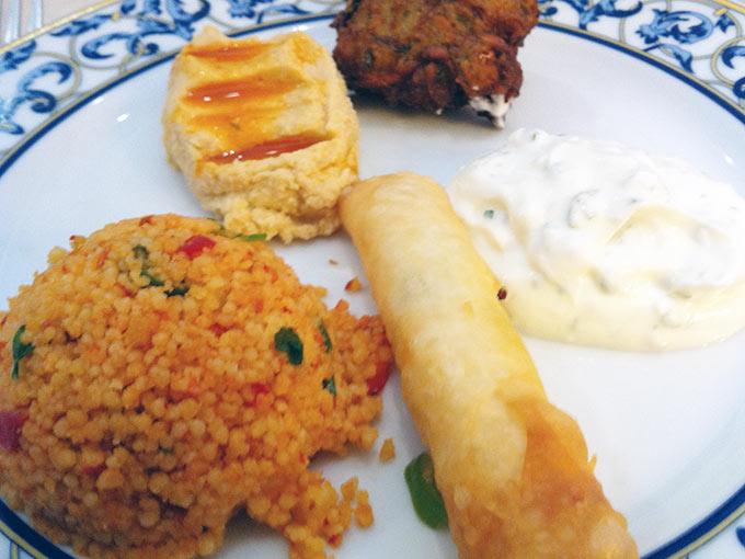 Mediterranean Grill - assorted starters