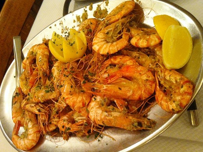 Le Furet - shrimp