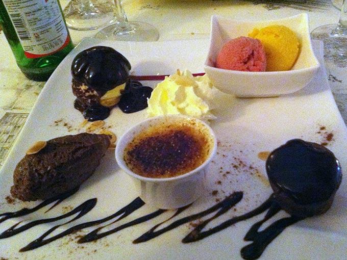 Auberge du Lion d'Or - dessert