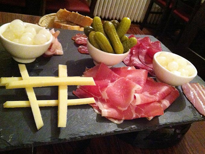 Château d'If - Assortment of cold cuts, cheese and pickles