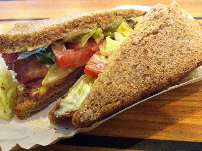 A Sandwich at Edward's