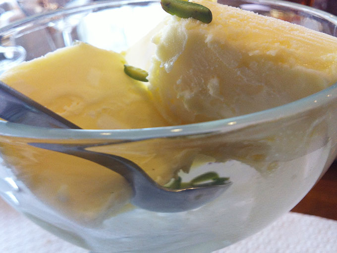 Hafez - saffron ice cream