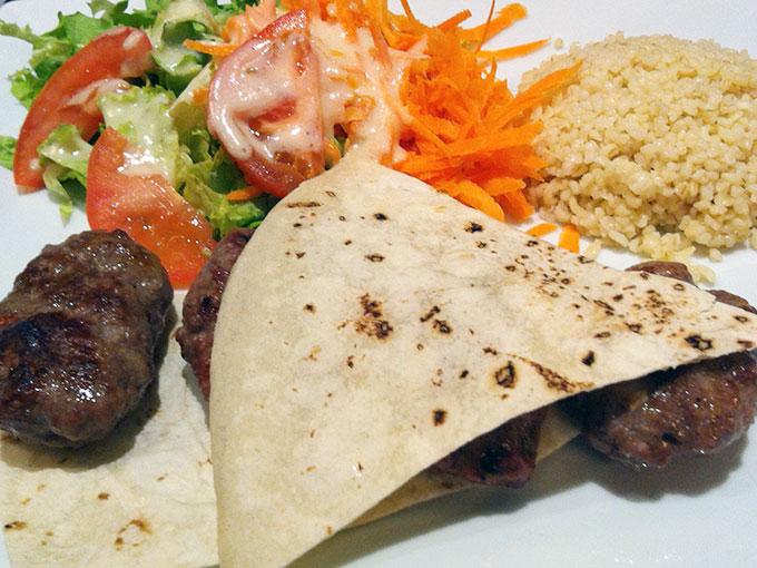 The Mediterranean Grill - kofte