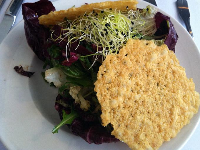 Chez Arsène - salad