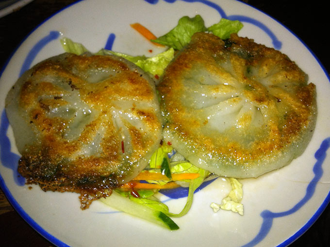 Le Thé - scallion pancakes