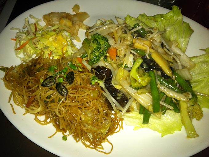 Green Mango - noodles