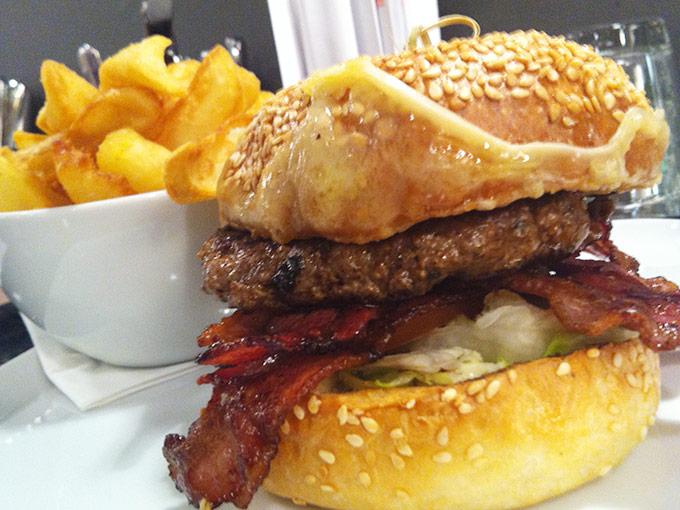 Denise's Art of Burger - bacon burger