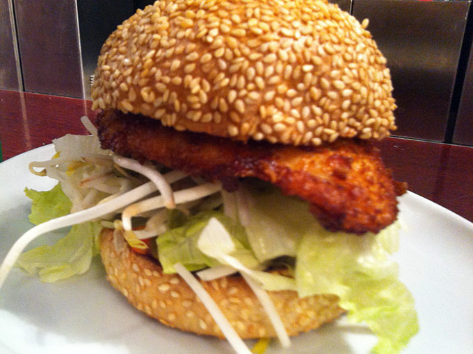 Denise's Art of Burger - Asian chicken burger