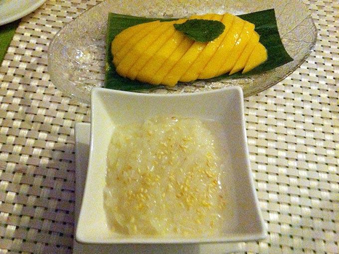 Green Mango - stciky rice and mango