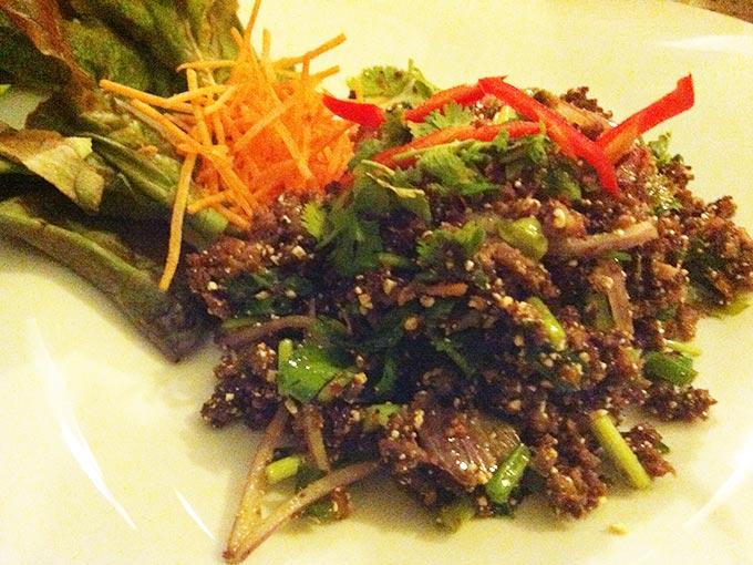 Green Mango - duck salad