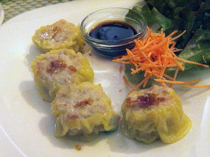 Green Mango - dumplings