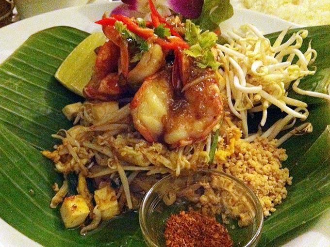 Green Mango - pad thai