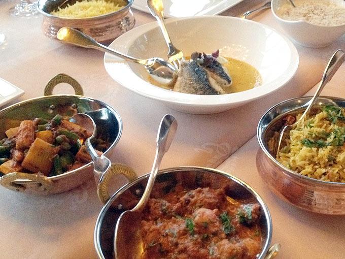 Hôtel d'Angleterre - various dishes