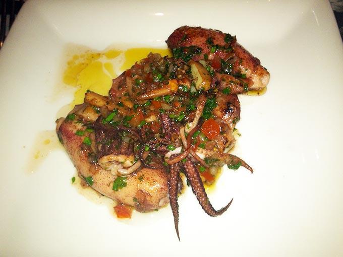 Les Dix Vins - Octopus