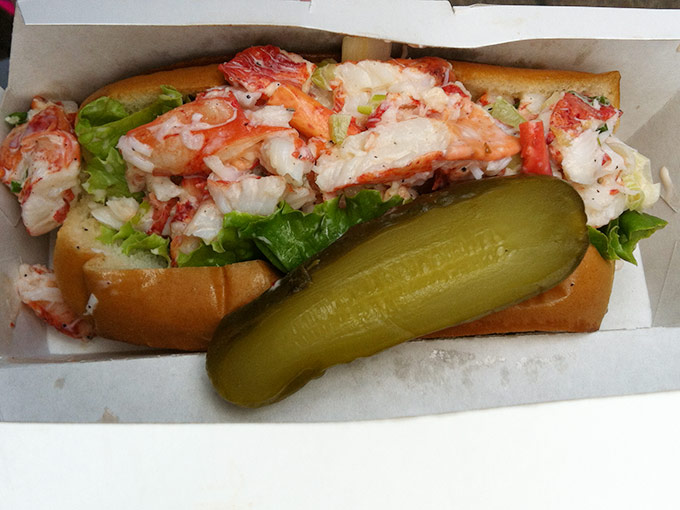 Chelsea Market - lobster roll