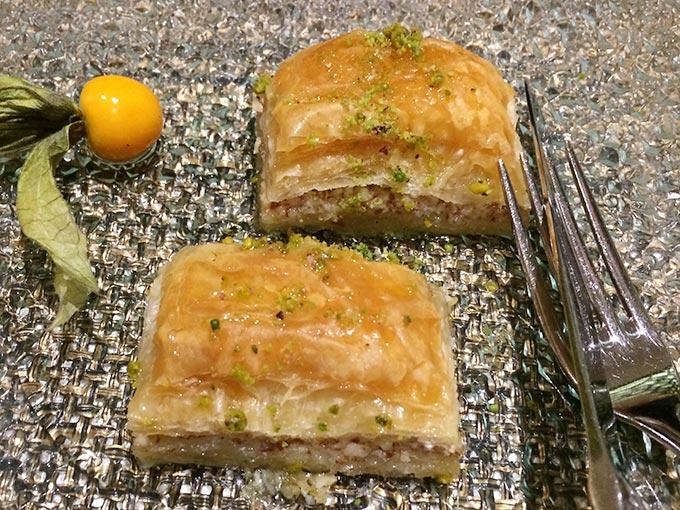 Kutchi restaurant - baklava
