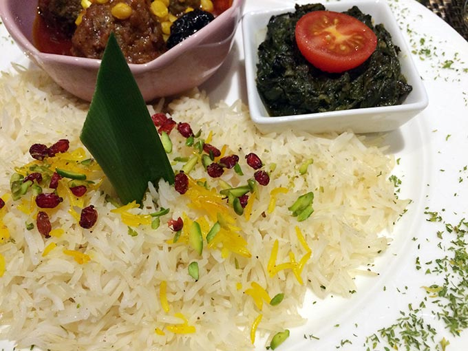 Kutchi restaurant - rice