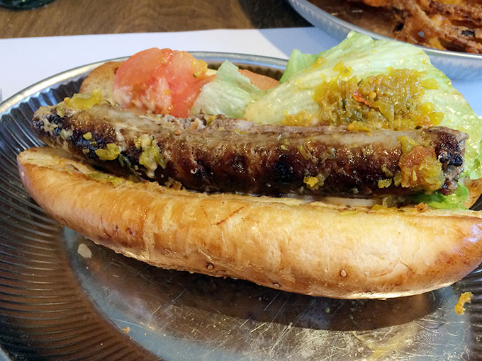 Vinnie's Café - hot dog