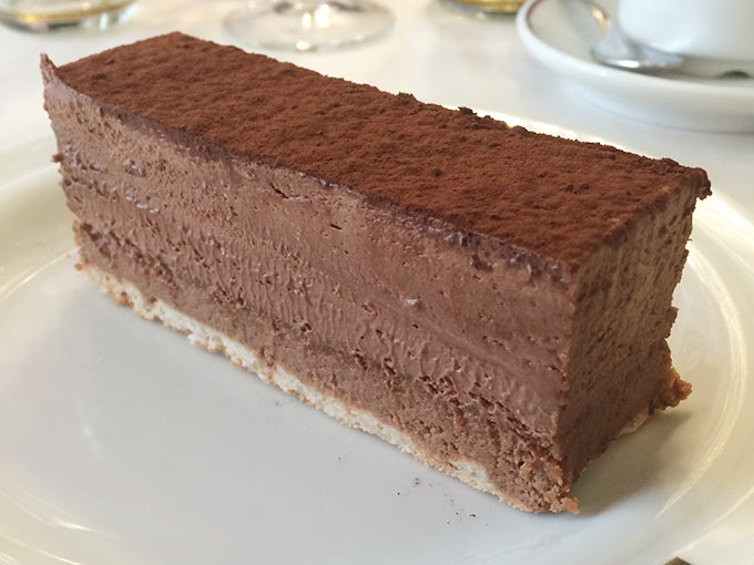 Bistrot du boeuf rouge - chocolate cake