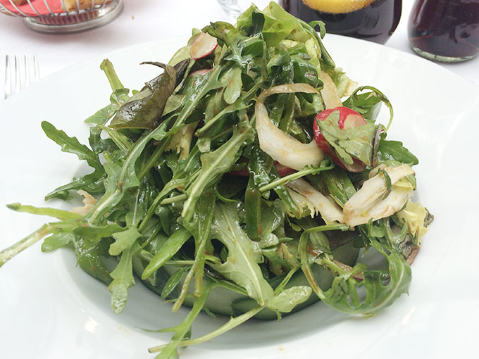 Brasserie da Matteo - mixed greens