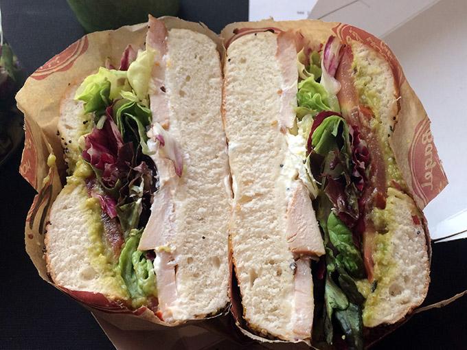 Bagel House Café - chicken avocado bagel