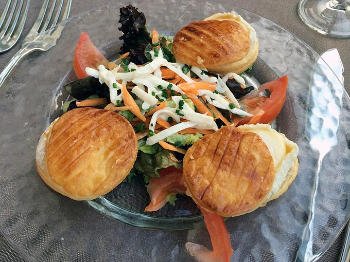 La Versoix - goat cheese salad