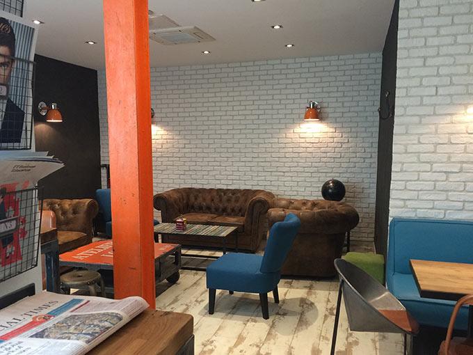 Bagel House Café - décor