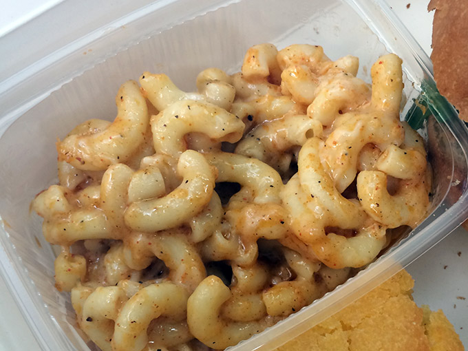 Funky BBQ - mac and cheese